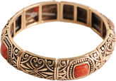 ARTSMITH BY BARSE Art Smith by BARSE Sponge Coral Stretch Bangle