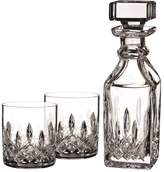 Waterford Lismore Connoisseur Small Square Decanter and Glasses Set