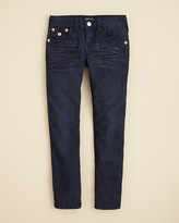 True Religion Boys' Geno Slim Fit Corduroy Pants - Sizes 2-7