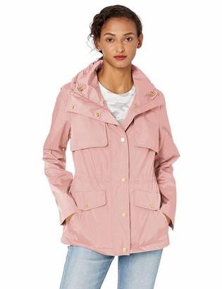 Cole Haan Women's Short Packable rain Jacket