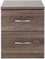 Very Portland 2-Drawer Bedside Cabinet