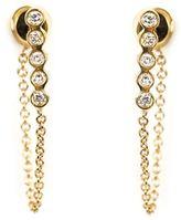 Ileana Makri diamond chain earrings