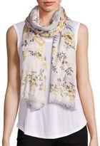 Stella McCartney Floral-Print Modal & Silk Scarf