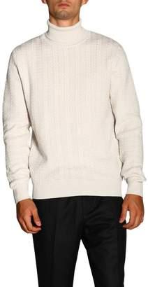 Ermenegildo Zegna Sweater Basic Turtleneck With Long Sleeves In Cashmere