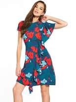 Closet Floral Shift Dress