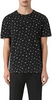 Allsaints Allsaints Vee Print Crew T-shirt, Vintage Black/off White