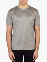 Paul Smith Grey Metallic Slim-Fit T-Shirt
