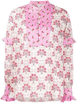 Liberty London Tana ruffled-detail blouse
