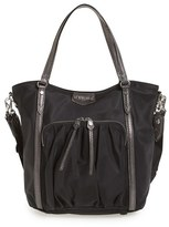 M Z Wallace Nikki Nylon Satchel - Black