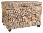 Water Hyacinth Ottoman Trunk