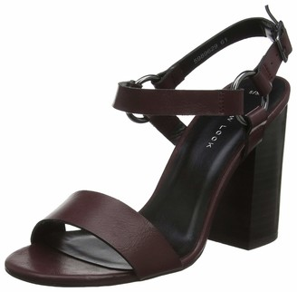 New Look Women's Obeeka Ankle Strap Heels