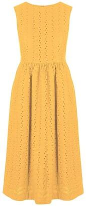 Komodo Primrose Organic Cotton Dress Amber