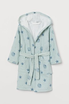 H&M Patterned dressing gown