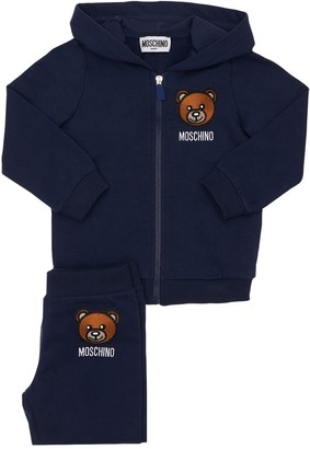 Moschino Cotton Sweatshirt Hoodie & Sweatpants