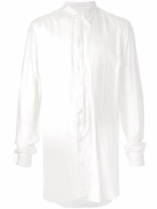 Julius Oversized Long-Sleeved Shirt