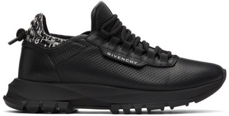 Givenchy Black Spectre Runner Low Sneakers