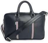 Ben Sherman Blue Double-Zip Briefcase