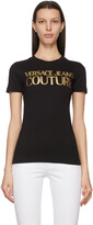 Thumbnail for your product : Versace Jeans Couture Black Institutional Logo T-Shirt