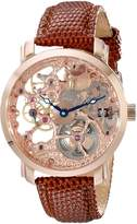 Akribos XXIV Men's AK406RG Bravura Davinci Mechanical Rose -Tone Watch