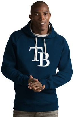 Antigua Men's Tampa Bay Rays Victory Logo Hoodie