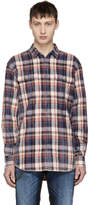 DSQUARED2 Multicolor Bleached Check Shirt