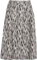 Great Plains White Noise Pleated Full Skirt