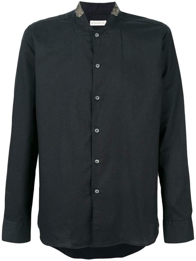 Etro micro dot shirt
