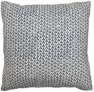 Kim Salmela Luna 20x20 Cotton Pillow - Lake Blue