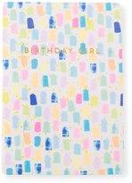 Oliver Bonas Birthday Girl Bruush Card