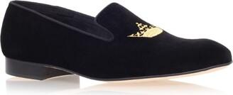 Church's Sovereign Crown Velvet Loafers