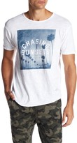 Kinetix Chasing Sunsets Front Graphic Print Tee