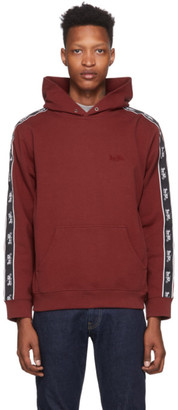 Coach 1941 Red Logo Tape Hoodie