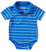 Under Armour Baby Boys Newborn-12 Months Horizontal-Stripe Bodysuit