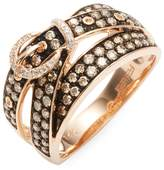 Effy Women's 14K Rose Gold Ring with Diamond and Gemstone