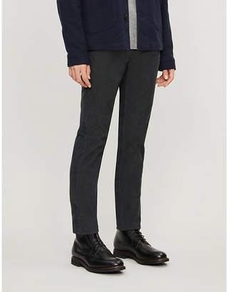 SLOWEAR Slim-fit corduroy trousers