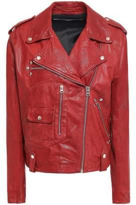 McQ Studded Leather Biker Jacket