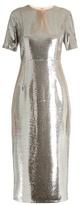 Diane von Furstenberg Sequin-embellished pencil dress