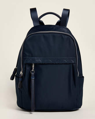 Calvin Klein Nylon Logo Backpack