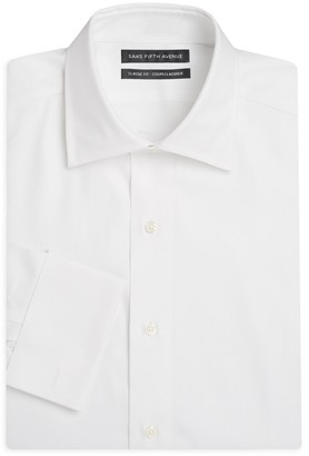 Saks Fifth Avenue Slim-Fit French Cuff Cotton Dress Shirt