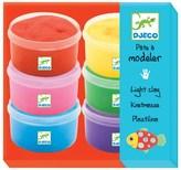 Djeco 6 Pots of Multi-Colour Clay