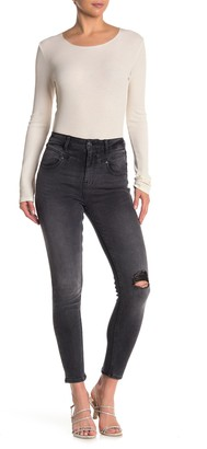 Vigoss Washed Yoke Front Skinny Jeans