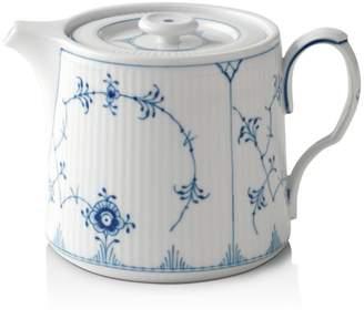 Royal Copenhagen Blue Plain Teapot
