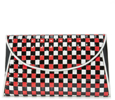 Diane von Furstenberg Woven Evening Clutch