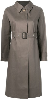 MACKINTOSH Taupe & Fawn Bonded Cotton Single-Breasted Trench Coat LR-061/CB
