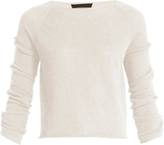 The Row Jian bow-sleeved cashmere sweater