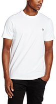 Fred Perry Men's Crew Neck T-shirt, Vintage Steel Marl, Large