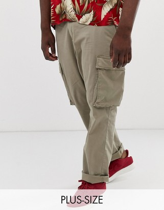 French Connection Plus cargo trouser