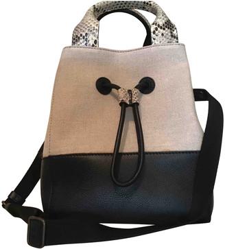 Maliparmi Ecru Cotton Handbags