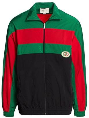 Gucci Oversize Nylon Jacket