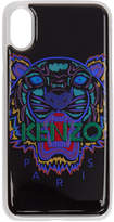 Kenzo Black and Blue Tiger iPhone X Case